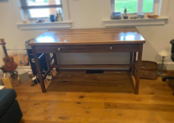 custom walnut desk