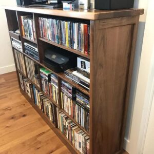 Custom Walnut TV Cabinet / Entertainment Center